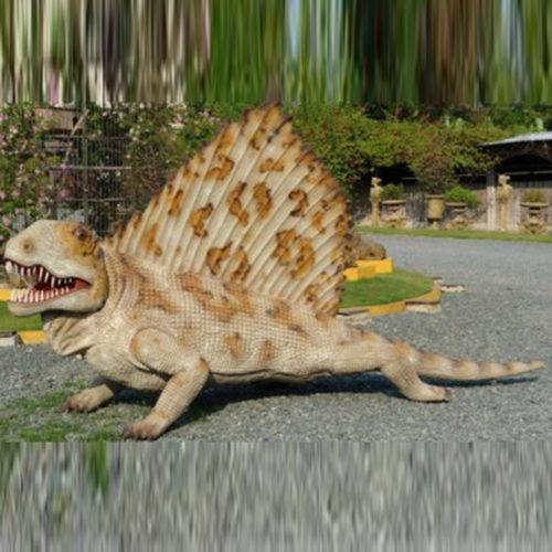 Dimétrodon nlc déco deco dinosaure resine