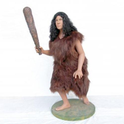 Femme-des-cavernes nlc déco deco prehistoire rersine