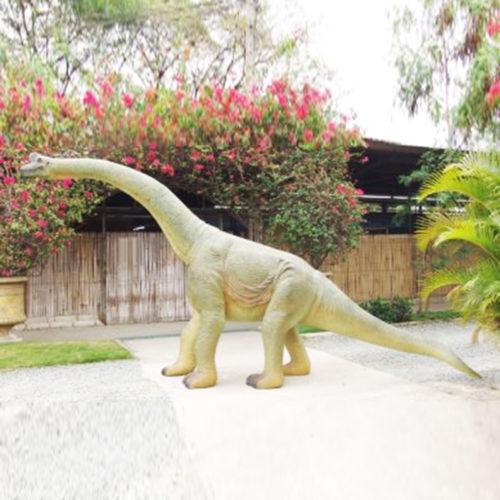 Jeune-Brachiosaure resine nlc deco déco dinosaures