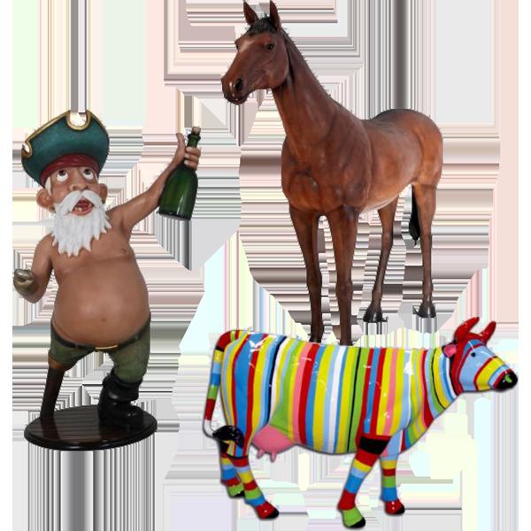 NLC Deco Décors, animaux et statues en résine - Leader Européen