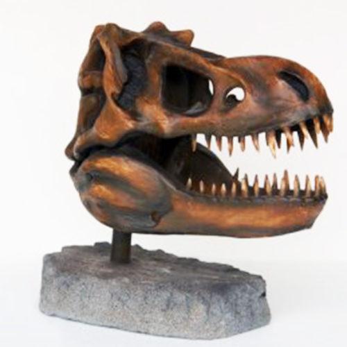 Squelette-tête-T-Rex nlc deco