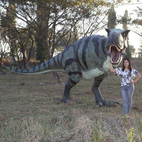 T-Rex 110073 dinosaure jurassic nlc deco