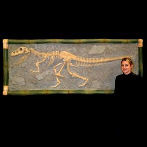 Tableau-T-Rex dinosaure nlc deco nlc déco