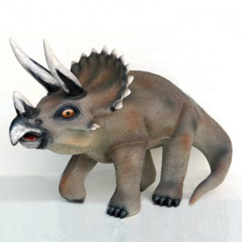 Triceratops-GM nlc deco déco resine dinosaure