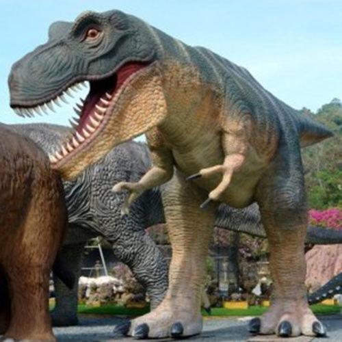 Tyranosaure-T-Rex dinosaure nlc déco deco resine animaux
