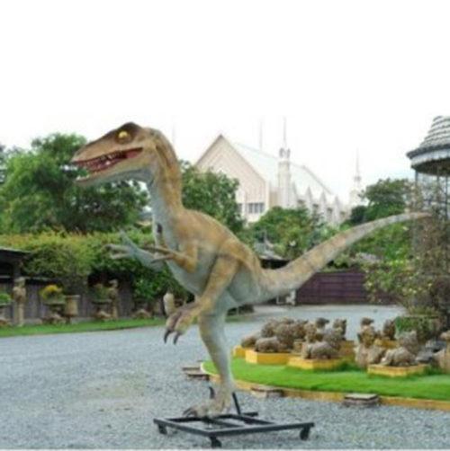 Utahraptor dinosaure nlc déco deco resine animaux