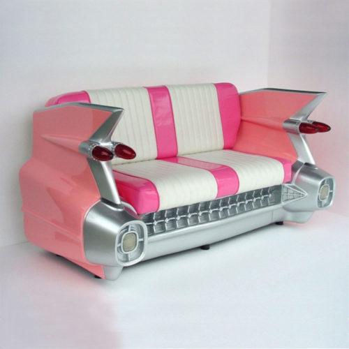 2021-P Sofa Cadillac rose nlcdeco