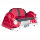 2022-R Sofa car rouge noir nlcdeco
