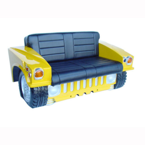 2025-Y Sofa Hummer jaune noir