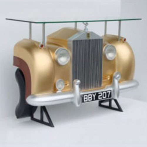 2029-Comptoir-bar-rolls Royce-or-nlcdeco decoration voiture