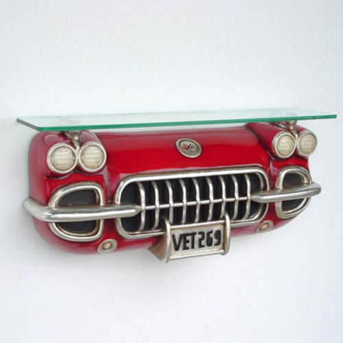 2102 Etagère Corvette rouge nlcdeco