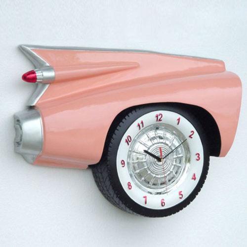 2104 Pendule Corvette rose nlcdeco