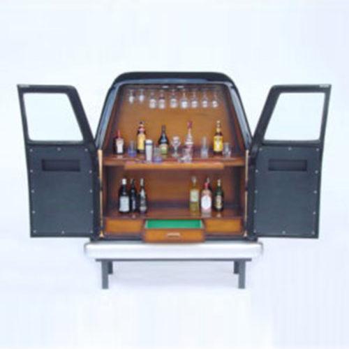 Bar-coffre-de-voiture-van decoration vehicule
