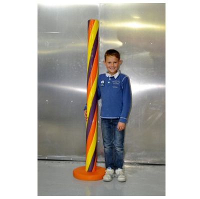 Bonbon stick jaune