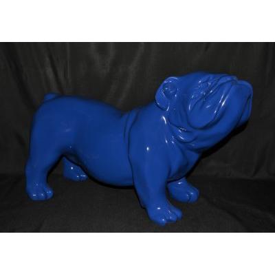 Bouledogue anglais bleu foncé