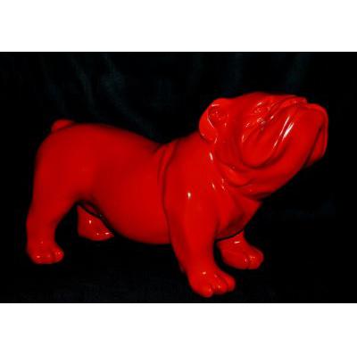 Bouledogue anglais rouge