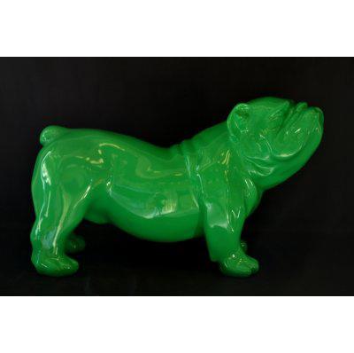Bouledogue anglais vert