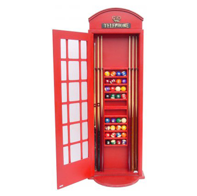 Cabine téléphonique billard