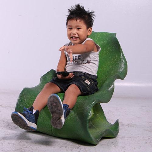 Chaise feuille enfant NLC DECO