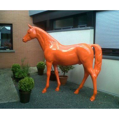 Cheval orange