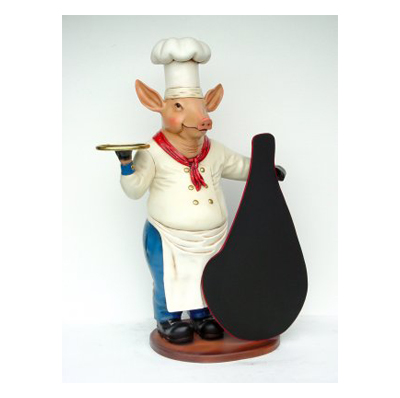 Cochon chef serveur - GM