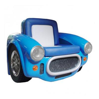 Fauteuil Cobra bleu