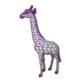 Girafe-écailles-fuschia nlcdeco