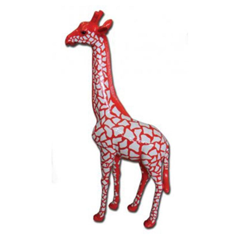 Girafe-écailles-rouge nlcdeco