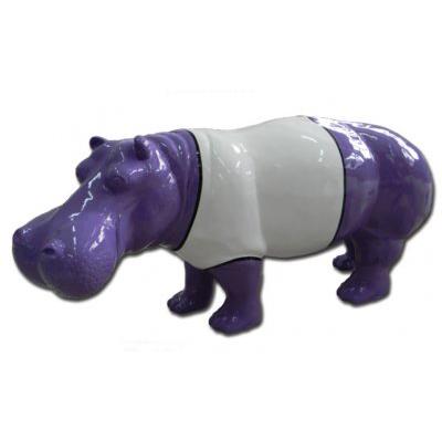 Hippopotame violet