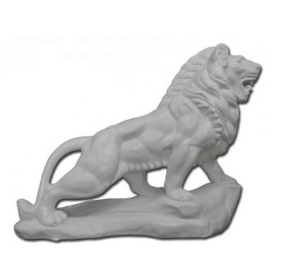Lion sur rocher - Prêt à peindre