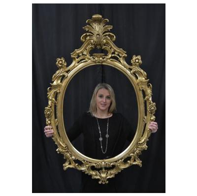 Miroir baroque or