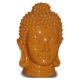 Tête de Bouddha orange