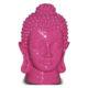 Tête de Bouddha rose