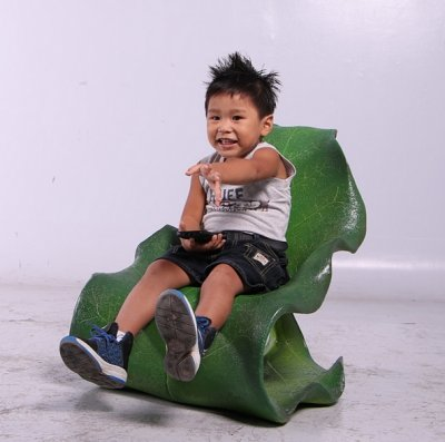 Chaise feuille enfant