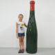 grande bouteille de vin factice decoration en resine nlcdeco