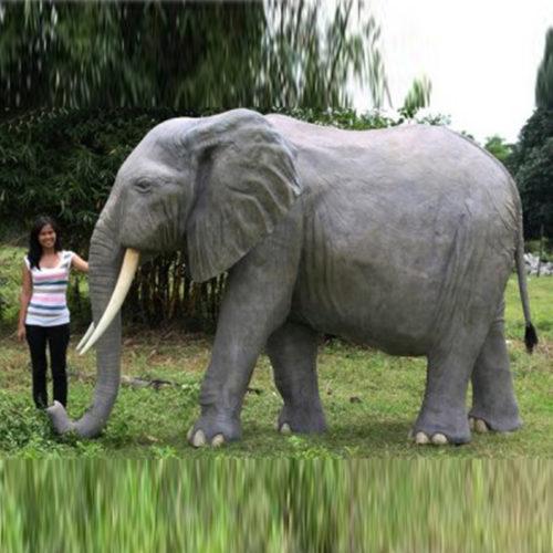 Éléphant gris NLC DECO