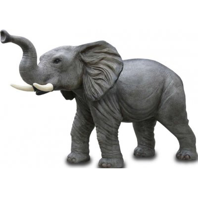 Éléphant sur pattes