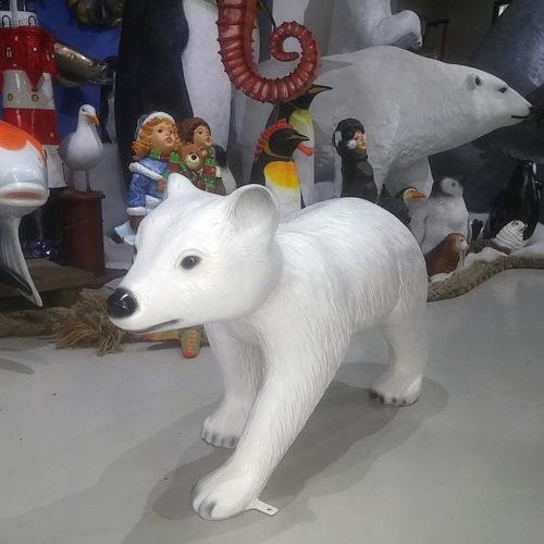 Bébé ours polaire nlc déco NLC DECO NOEL BANQUISE