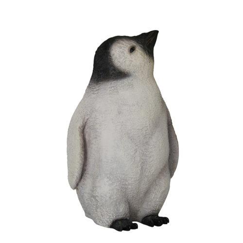 Bébé pingouin tête en l'air NLC DECO