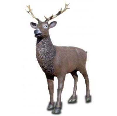 Cerf grandeur nature