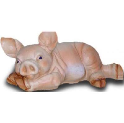 Cochon couché