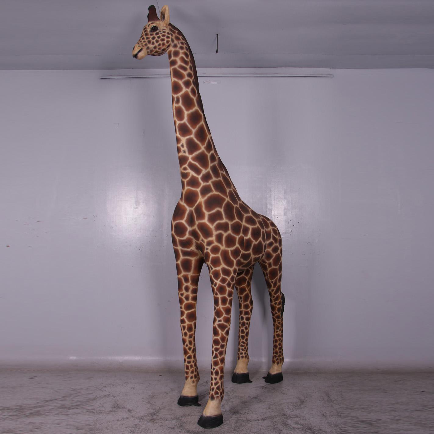 Girafe   Décors, figurines et animaux exotiques résine savane safari