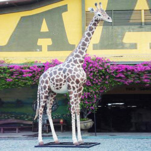 Girafe-adulte animaux en résine nlc déco deco