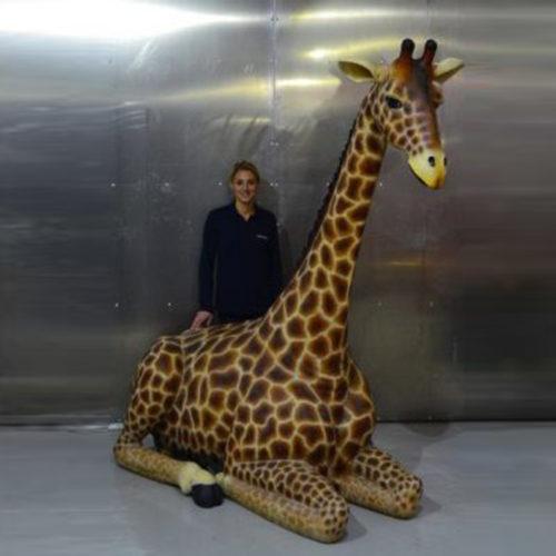 Girafe couchée NLC DECO