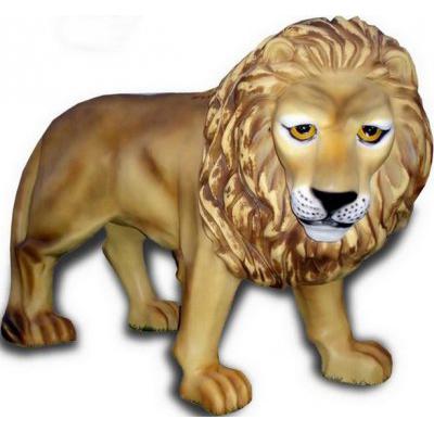 Lion en résine