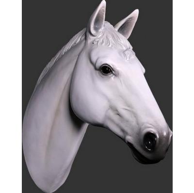 Trophée Cheval blanc résine
