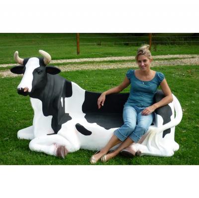 Vache banc