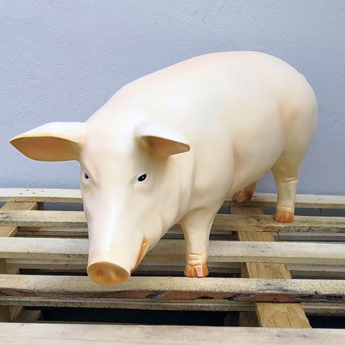 cochon A340a animaux en résine nlcdéco