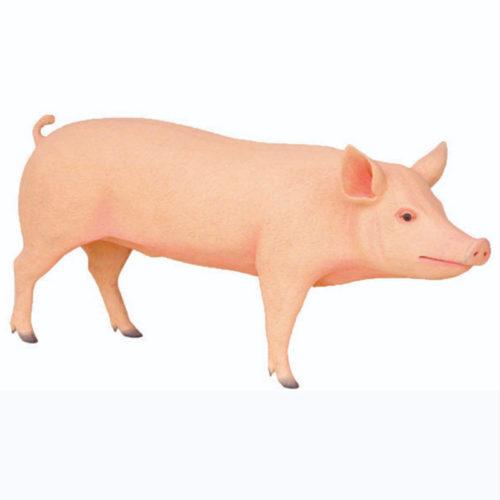 cochon geant animaux en resine geant nlcdeco