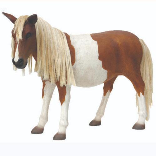 poney en résine nlcdeco animaux taille reel